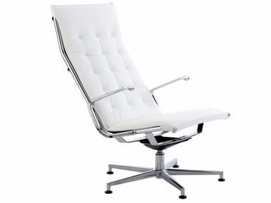 Height-adjustable executive chair with 5-spoke base TAYLORD SQUARED   Executive chair