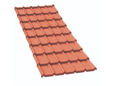 Composite panel for roof TE021TC