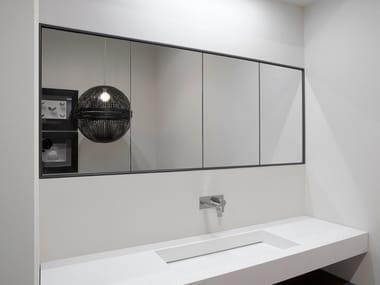 Pensile bagno con specchio TEATRO