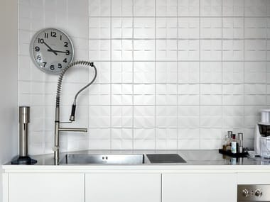 Double-fired ceramic wall tiles TEKNE