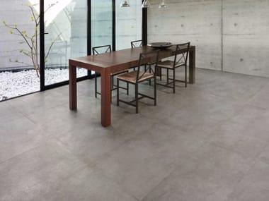 Porcelain stoneware wall/floor tiles with stone effect TEKNOSTONE - SMOKE