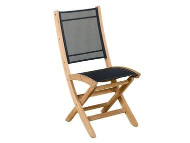 Sedia da giardino pieghevole in Batyline® TEKURA | Sedia