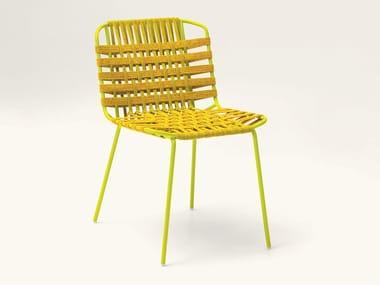 Sedia da giardino in fibra sintetica TELAR | Sedia