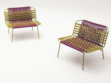 Garden stainless steel easy chair TELAR | Easy chair