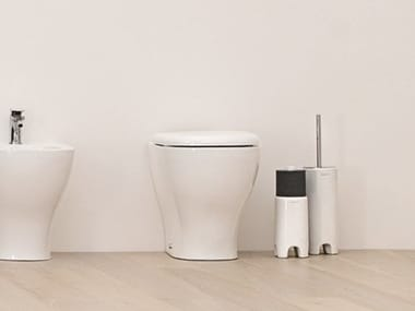 Floor mounted ceramic bidet TEN | Floor mounted bidet