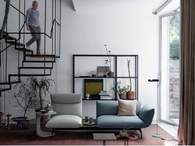 Sectional 3 seater fabric sofa TENSO | Sofa