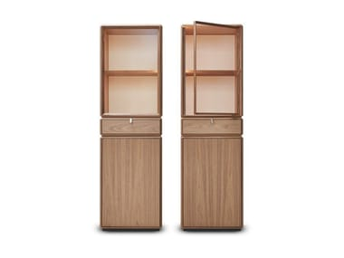 Modular wooden highboard TEOREMA | Highboard