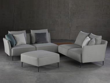 Corner sectional fabric sofa TERA | Sofa