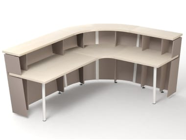 Reception Per Ufficio : Banchi reception per ufficio in melamina archiproducts