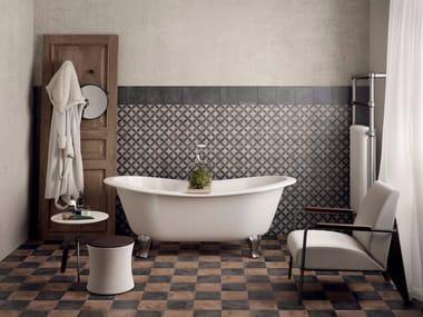 Full-body porcelain stoneware wall/floor tiles TERRA - ROSSO