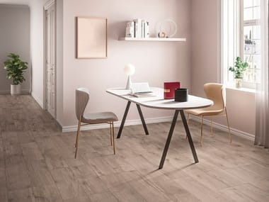Porcelain stoneware wall/floor tiles with wood effect TERRE