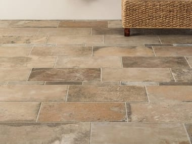 Porcelain stoneware wall/floor tiles with terracotta effect TERRE NUOVE SAND