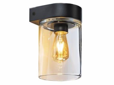 Lampada da parete per esterno a luce diretta in alluminio TESLA | Lampada da parete per esterno