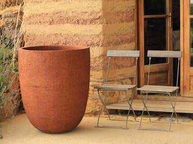 Vaso da giardino fatto a mano in terracotta TEXEL   Vaso in terracotta