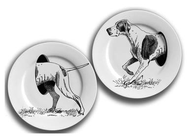 Porcelain plates set THE DOG