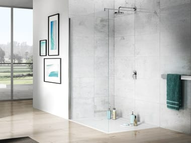 Crystal Walk in shower THE ESSENTIALS | Walk in shower