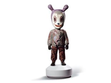 Objet déco en porcelaine THE GUEST by Gary Baseman - BIG