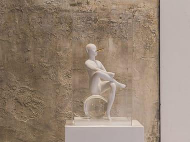 Ceramic sculpture THE PINOCCHIO