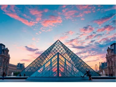 Photographic print THE LOUVRE PYRAMID