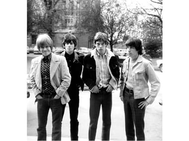 Stampa fotografica THE ROLLING STONES A PARIGI NEL 1966