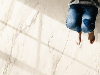 Pavimento/rivestimento in gres porcellanato effetto marmo THE ROOM - CRE DL