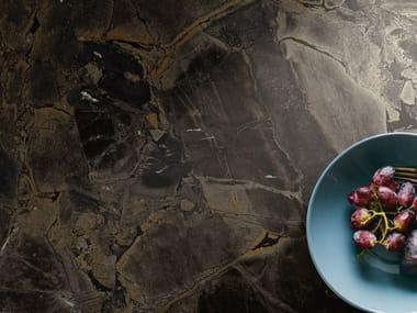Pavimento/rivestimento in gres porcellanato effetto marmo THE ROOM - INF BR