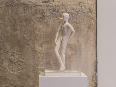 Ceramic sculpture THE SNOB