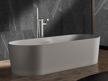 Vasca da bagno centro stanza ovale THEA F