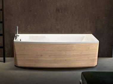Vasca da bagno idromassaggio rettangolare in acrilico THEA   Vasca da bagno rettangolare