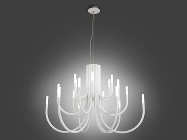 LED iron chandelier THEPALM 5190/18