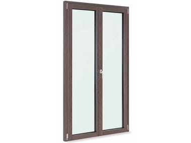 Aluminium and wood patio door THERMIC 2.0