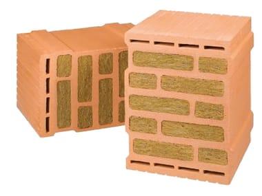 Loadbearing clay block THERMOPLAN® SISMICO PLUS