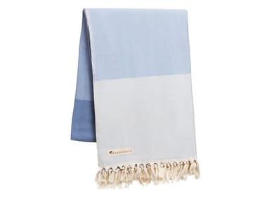 Striped cotton lap robe TOREKOV