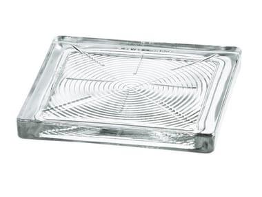 Walkover light Glass block TILES