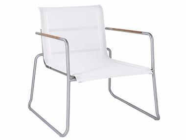 Garden Batyline® easy chair with armrests TILOS   Garden easy chair
