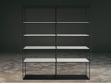 Open freestanding bookcase TIME | Bookcase