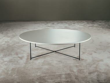 Lacquered round coffee table TIME | Round coffee table