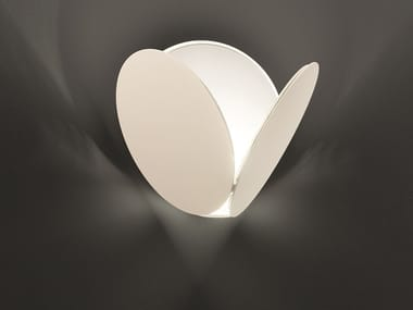LED painted metal wall light TIMEO A