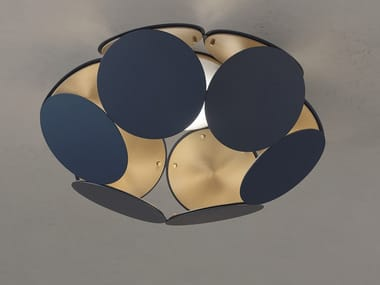 LED painted metal ceiling lamp TIMEO PL1 R45