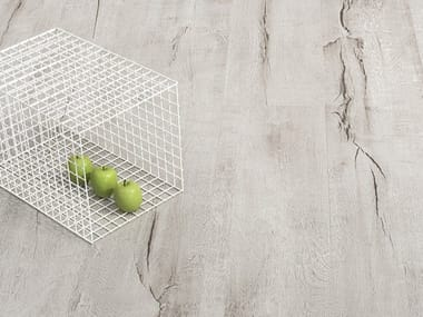Porcelain stoneware wall/floor tiles with wood effect TIMEWOOD GREY