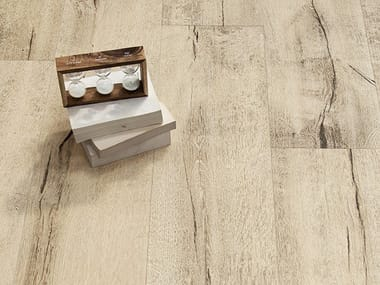 Porcelain stoneware wall/floor tiles with wood effect TIMEWOOD HONEY