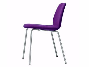 Stackable fabric chair TINDARI CHAIR - 516