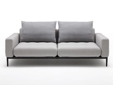 Fabric sofa ROLF BENZ 370 TIRA | 2 seater sofa