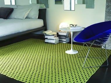 Handmade fabric rug TOBAGO