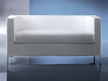 Fabric small sofa TOBI