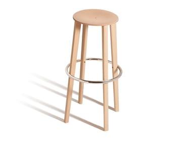 High beech stool TOE 534M