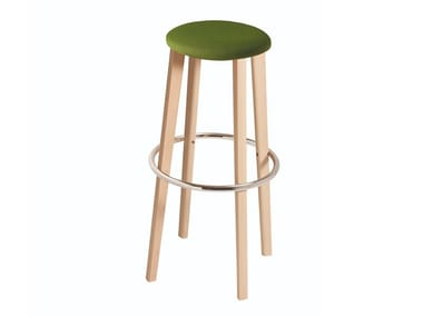High stool with integrated cushion TOE 534T