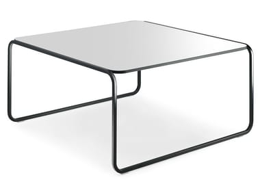 Stackable square HPL coffee table TOÉ | Square coffee table