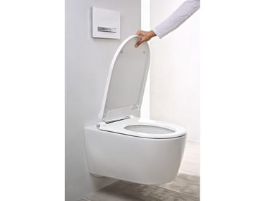 Wall-hung ceramic toilet ONE | Toilet