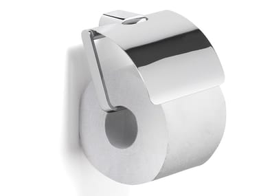 Toilet roll holder with cover AZZORRE | Toilet roll holder with cover
